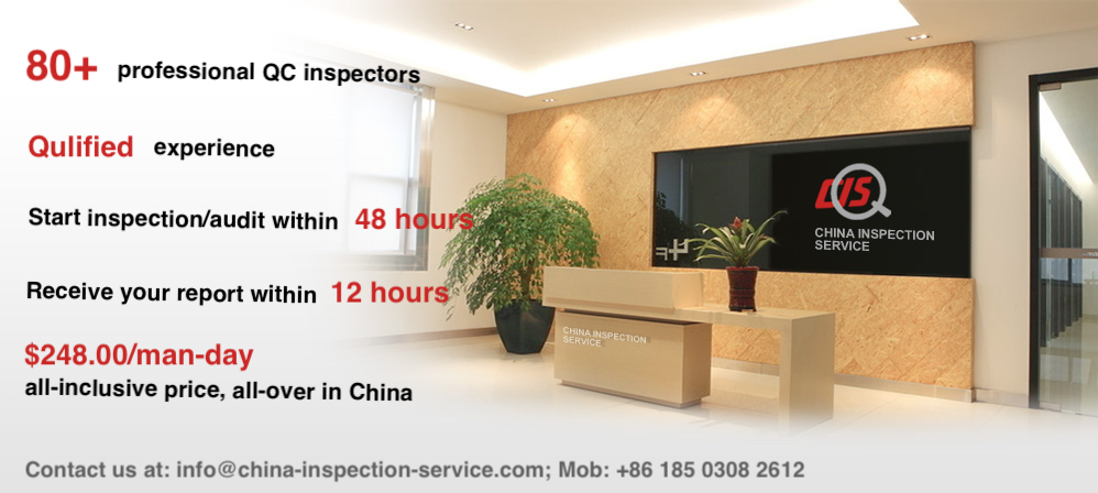 Get reliable China inspection services online